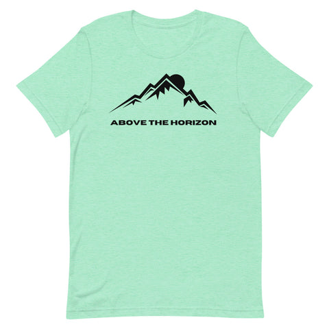 unisex-mint-heather-above-the-horizon-t-shirt