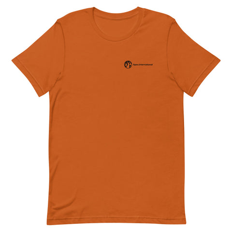 unisex-burnt-orange-apex-t-shirt