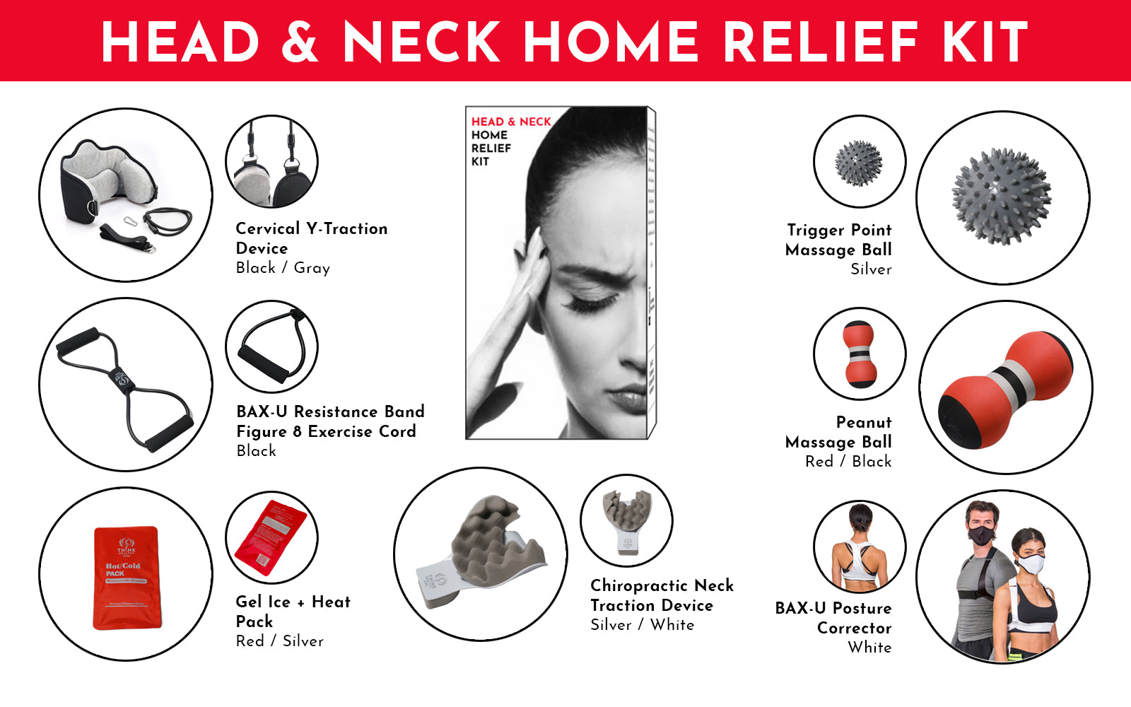 Head & Neck Home Relief Kit