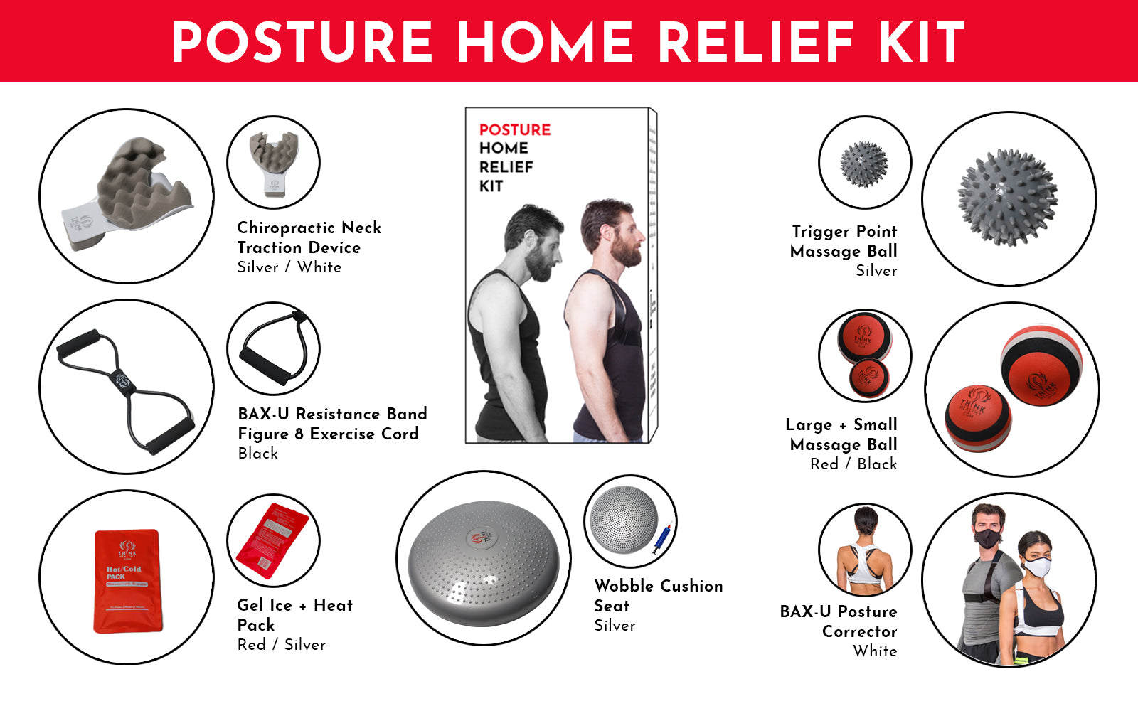Posture Home Relief Kit