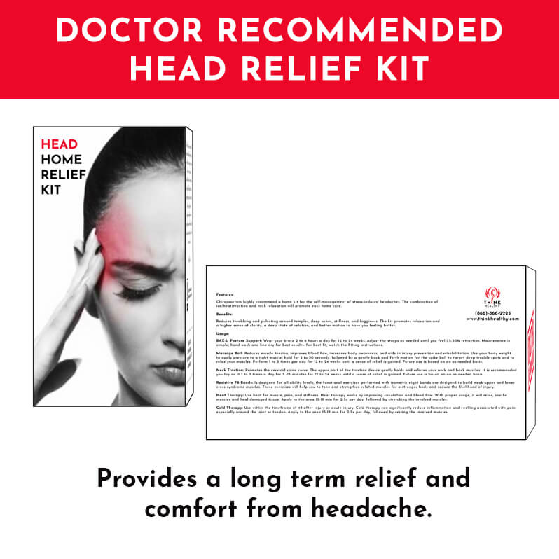 Dr. Recommended Head Relief Home Kit