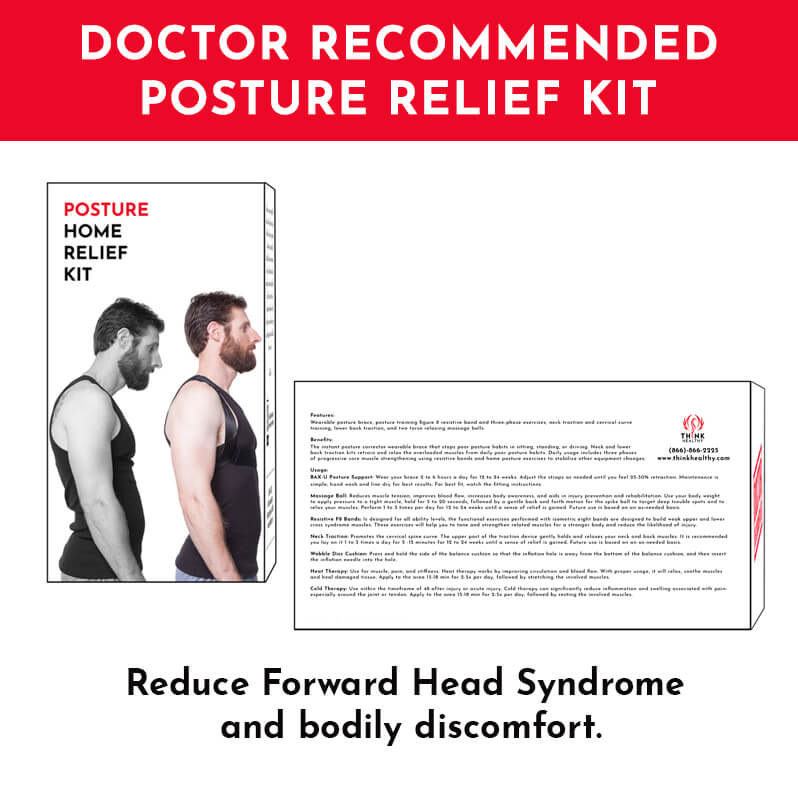 Dr. Recommended Posture Relief Home Kit