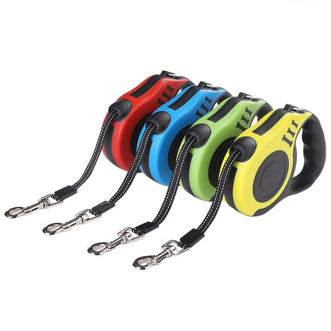 Durable Retractable Dog Lead Leash For Small Medium Dogs Pet Supplies. Automatic Least.