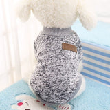 Winter Dog Sweater Warm Clothing  9 Colors XS-2XL