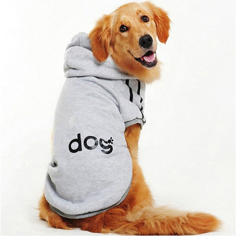 Soft Winter Hoodie Coat for Small and Large Dogs Size:S-9XL