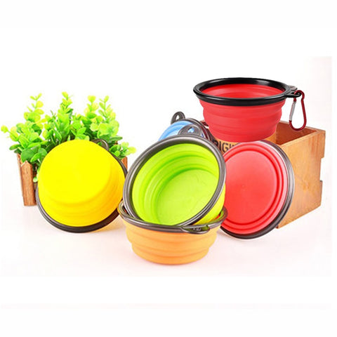 Dog Castle Collapsible Portable Travel Bowl Free + Shipping
