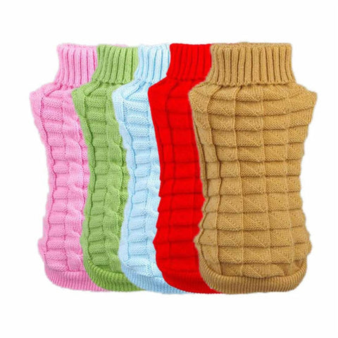 Dog Castle Woolen Winter Sweater For Chihuahua and Large Dogs