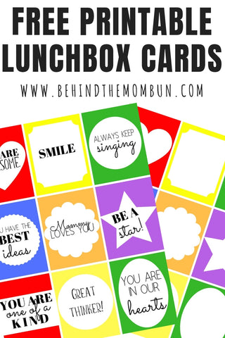 Lunchbox Note Cards