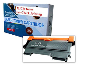 Brother TN420 MICR Toner Cartridge for Check Printing TN-420 HL-2230 HL-2240 HL-2240D HL-2242 HL-2242D HL-2250DN HL-2270 HL-2270DW HL-2275DW HL-2280DW 1.2K Compatible Non OEM MICR Toner Cartridges