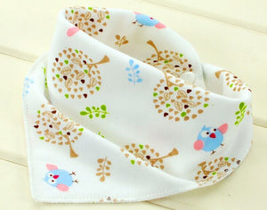 10Pc Baby Cotton Scarf