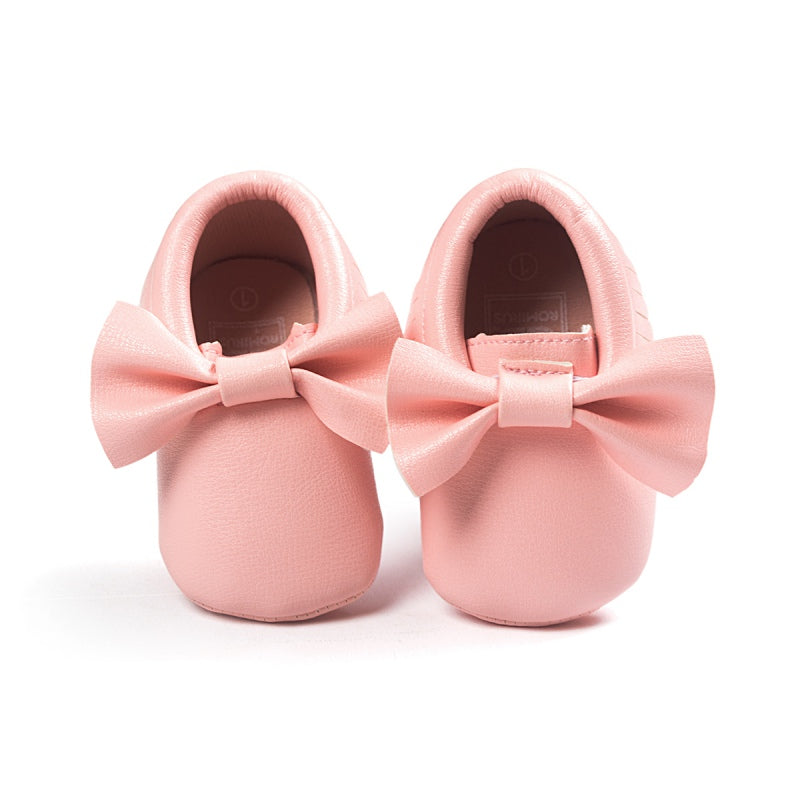 Baby Girl Bow-knot Crib Shoes
