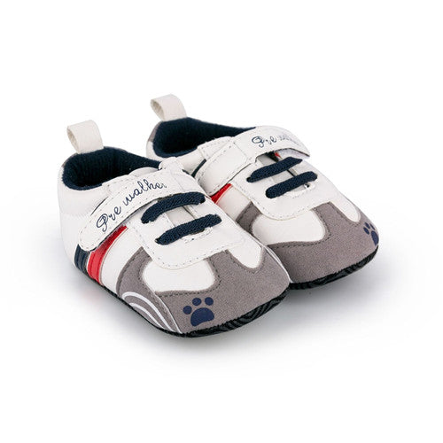 Infant Baby Boy Casual Sneaker Shoes Slip-On Soft Sole Crib Shoes 0-1 Year