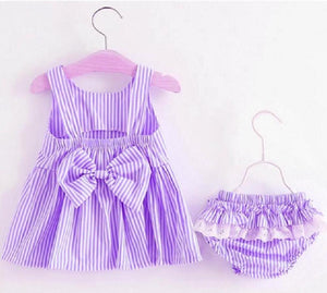 Baby Girl Big Bowknot Double Formal First Birthday Party Tutu Dress