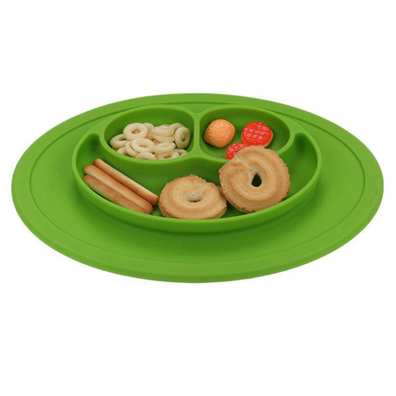 Infants Ellipse Silicone Feeding Plate