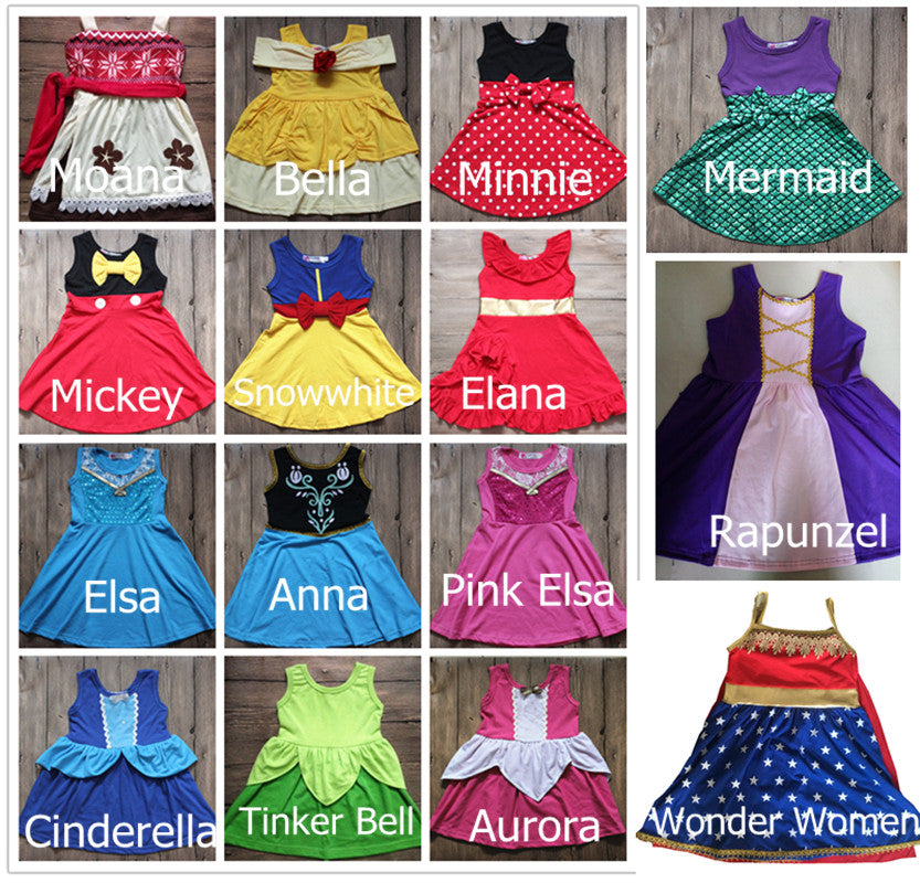 Moans Mermaid Princess Party Dress