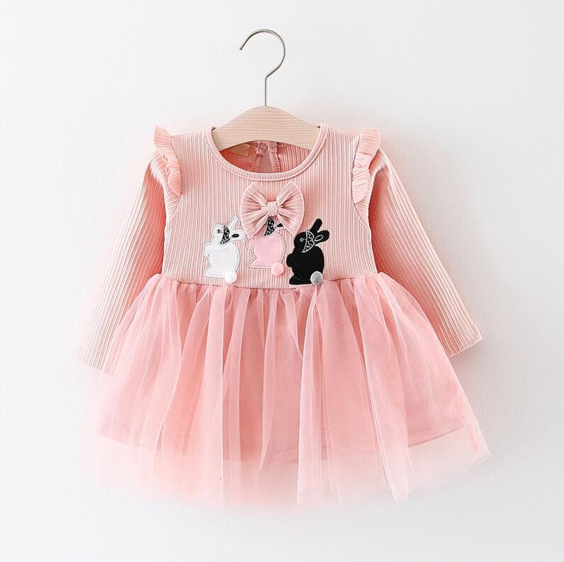 Baby Girl Dress (Long sleeve dress for 0 to 24M)