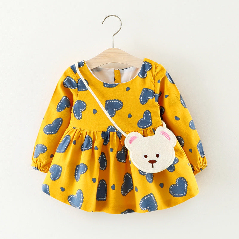 Baby Girl Dress (Long sleeve dress for 0 to 24M) - More options