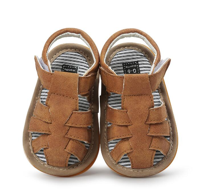 2018 fashion ROMIRUS baby boy shoes casual summer shoes for 0-18M first walkers hard sole toddler moccasins