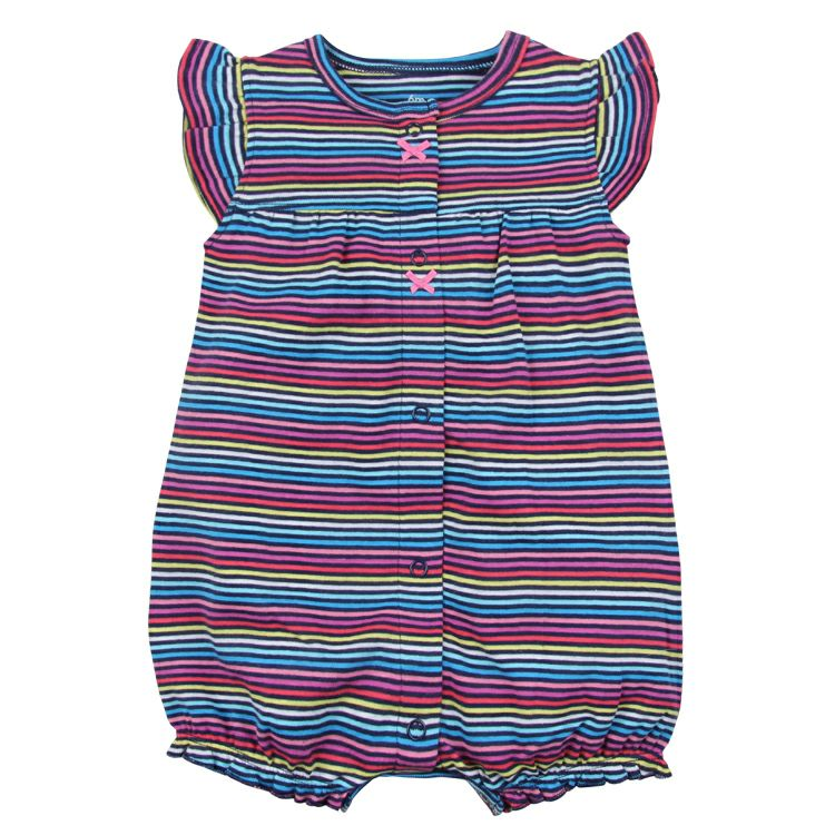 Orangemom Cotton One-pieces Short Romper for Baby Girls