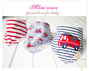 100% Cotton 3pcs Bibs Baby Bandanas Scarf Cravat Towel Set