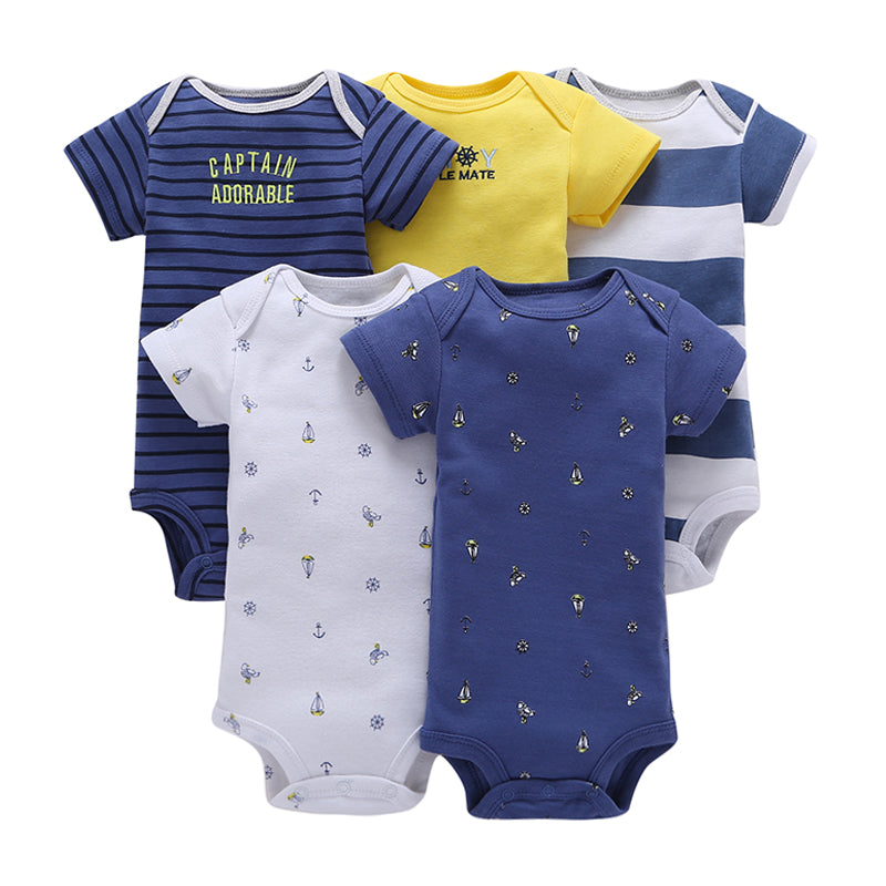 5pcs Roupa Infantil Casaco Clothing Set for Newborn