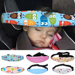 Adjustable Baby Head Support Fastening Pram Belt Baby (Car Seat Safety)
