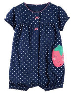 Baby Girls Rompers Summer Fashion Short Sleeve Baby Clothing Toddler Roupas Clothes Newborn Baby Clothes Infant Jumpsuit Animal