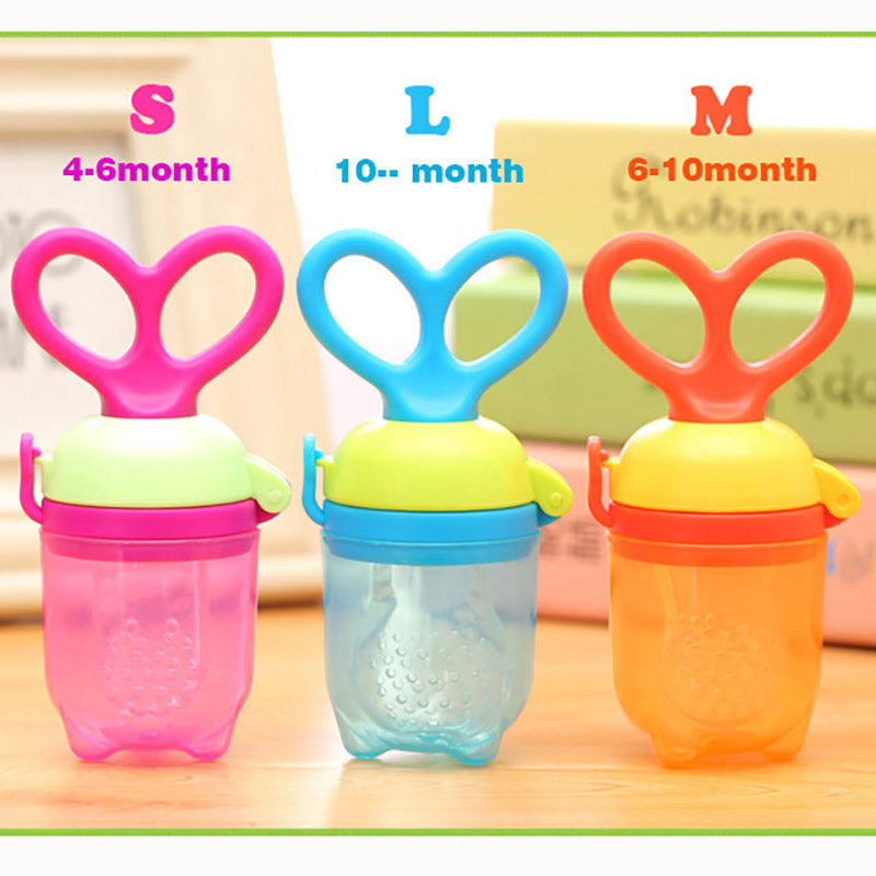 Baby Feeding Nipple Fruit Pacifier Bottles