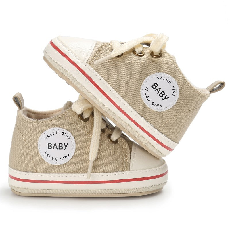 Baby Shoes (Canvas Lace-up - 0 to 18M)