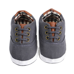 Bebek Ayakkabi Canvas Sneaker First Walkers for Baby Boys