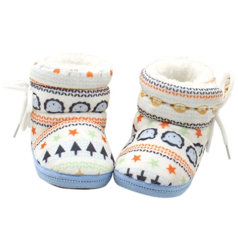 Warm Fleece Toddler Snowboots for Winter Bebek Ayakkabi