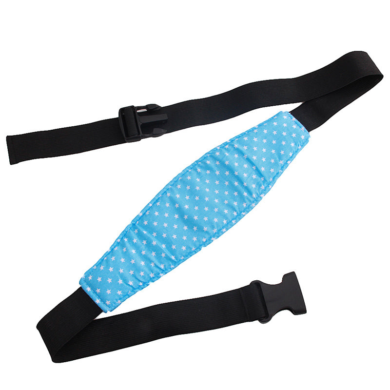 Baby Head Support Car Safety Sleeping Position Fastening Belt