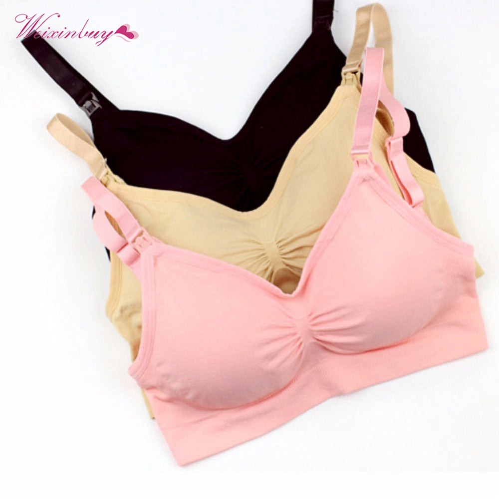 Breastfeeding Wire-free Stretchy Women Bra