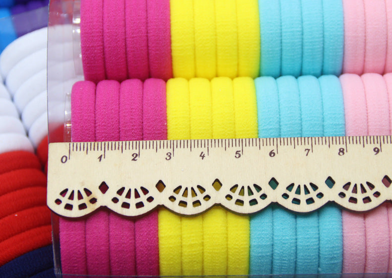 66Pc Elastic Rubber Hair Bands