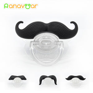 Beard Nipple Dummy Pacifier For Baby