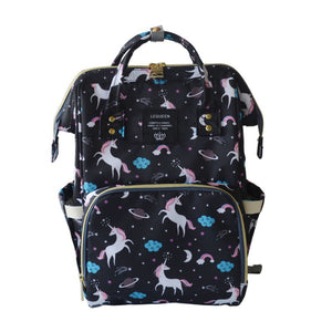 Free Ship 2018 New Capacity Mummy Maternity Bag Diaper Baby Bag Multifunctional Nursing Bag Backpack Baby Care mom Convenient