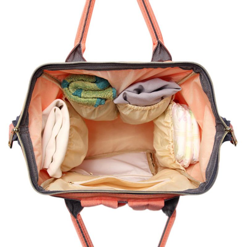 Multifunctional Maternity Nursing Diaper Backpack Convenient for Mom