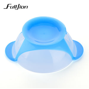 Fulljion Bowl Plate Baby Food Children's Tableware Set Feeding Cup Utensils Baby Plates For Kid Bpa Free Dinnerware Dishes Spoon