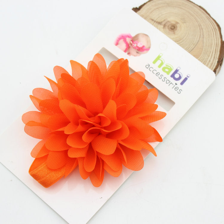 Baby Girl Flower Elastic Hairband