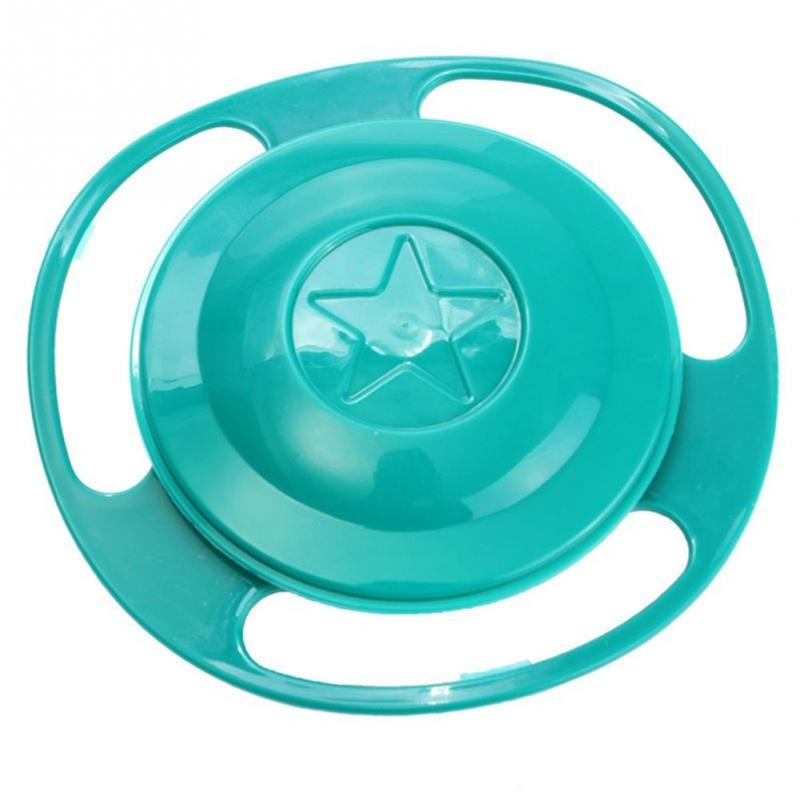 360 Spill-proof Baby Feeding Plastic Bowl
