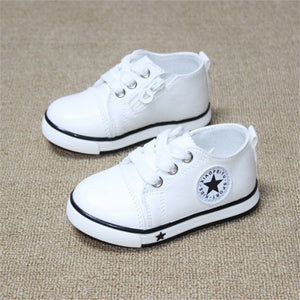 1-3Y Breathable Canvas Baby Shoes Sneaker