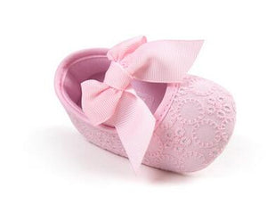Anti-slip Soft Sole Leather Baby Shoes