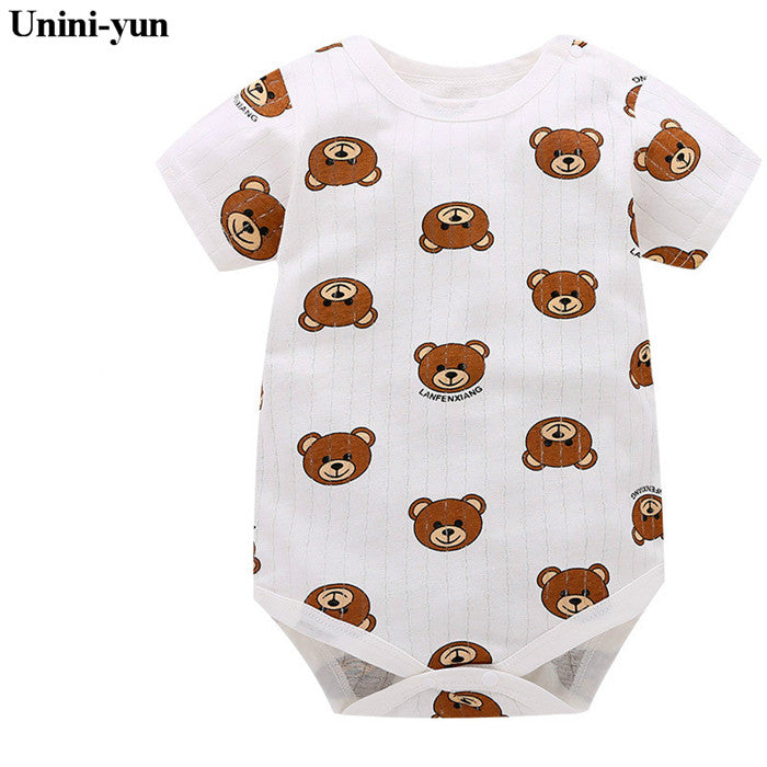 Summer Baby Boy Romper (Animal style - Short Sleeve) - More options