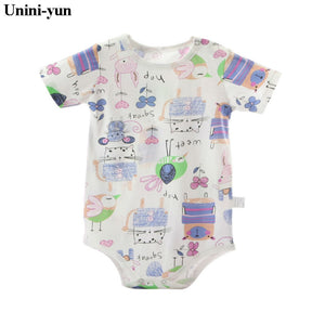 Summer Baby Boy Romper (Short Sleeve)