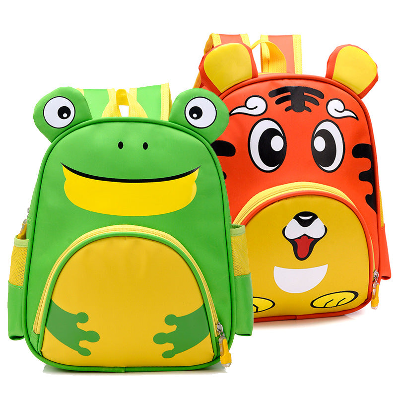 Zoo Families Owl Animal Kindergarten School bag for 3-5 Years Children