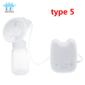 Single/Double USB Electric Breast Pump With Milk Bottle