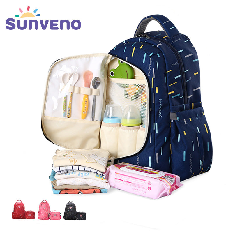 2in1 Maternity Bag (Travel Backpack - Nursing Bag)