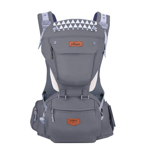 Ergonomic Baby Carrier with Hipseat