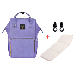 Maternity Large Diaper Bag Travel Backpack