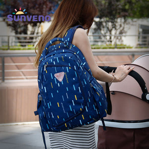 High-Capacity 2in1 Maternity Bag (Travel Backpack - Nursing Bag)